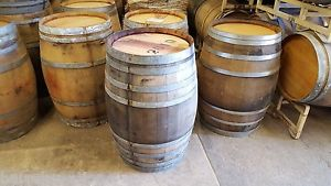 oak wine barrels for sale